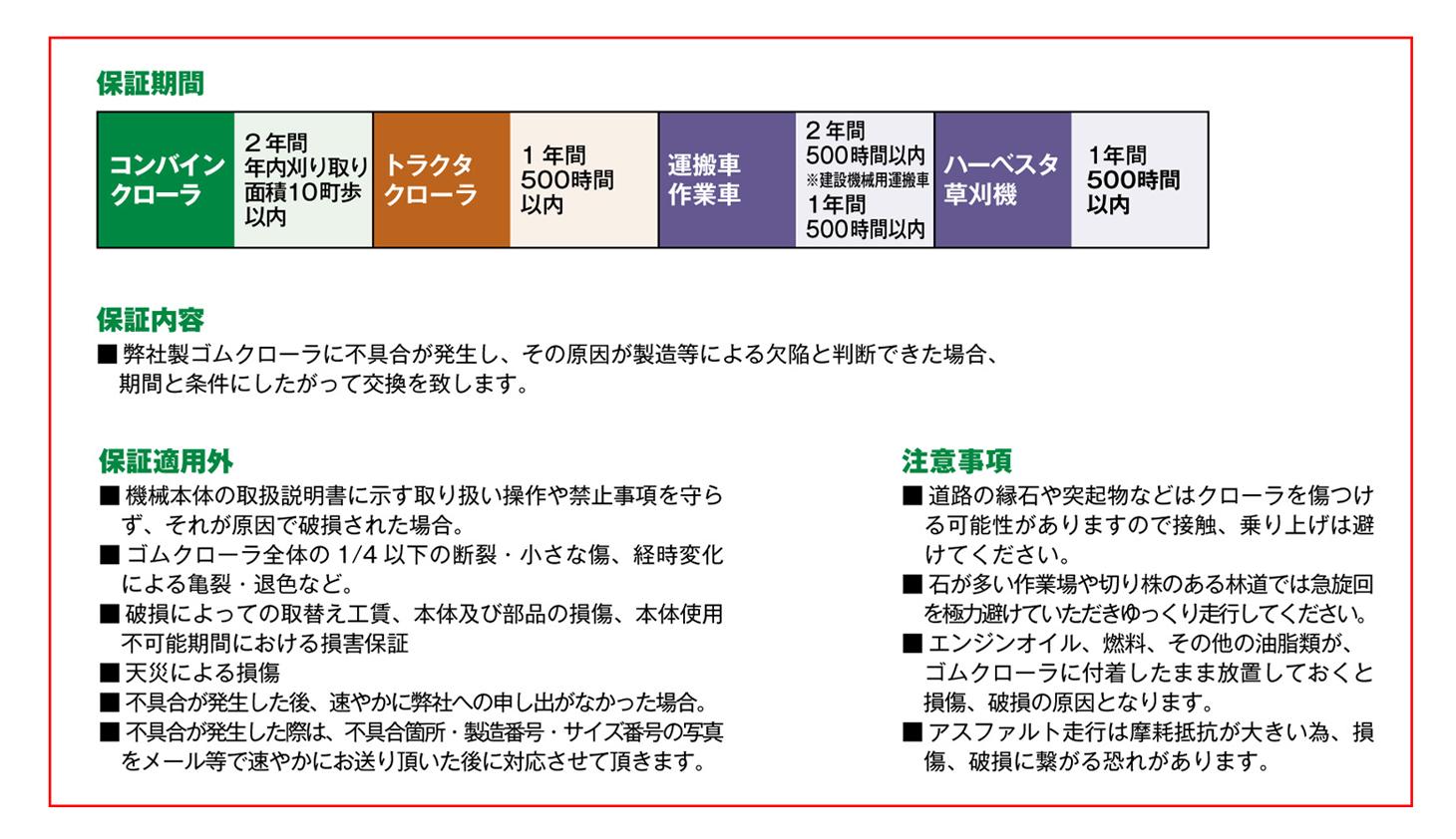 東日興産ゴムクローラ